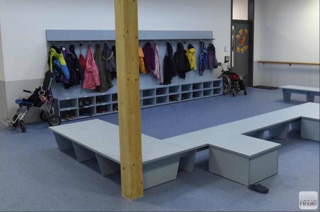 Garderobe für Schüler