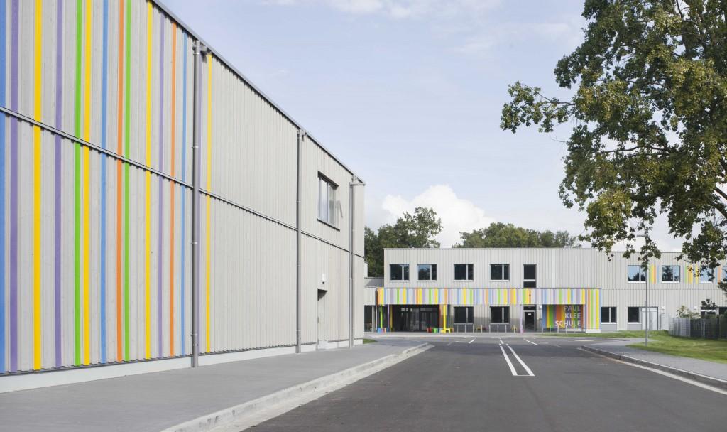 Paul-Klee-Schule Auffahrt